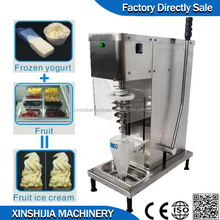 Swirl Fruit yogurt ice cream machine with cheap price