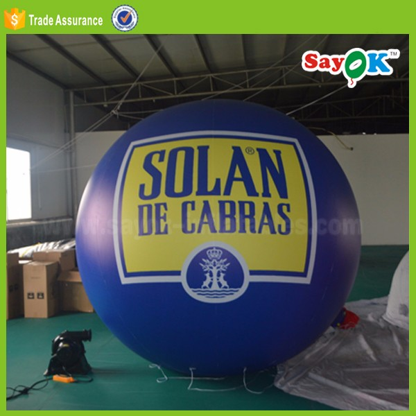 outdoor inflatable led balloon lighting balls for advertising
