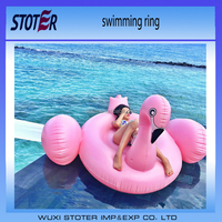 PVC Promotion Inflatable Kids Float Pool Inflatable Swimming Ring