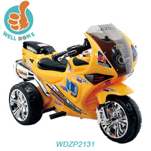 Good quality kid motorcycle price cheap with three wheel and music WD2131