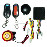 Motorcycle Alarm With 2pcs Alarm Remote Start For Yamaha Motorcycle Spare Parts