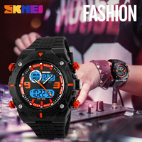 Alibaba selling wholesale digital low price watch online skmei waterproof watch
