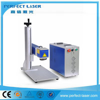 Product Glass uv PEDB-400B fiber laser marking system hot sale with CE