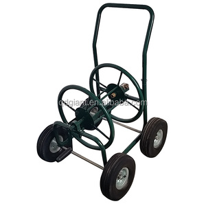 Good quality irrigation new premium metal garden hose reel cart