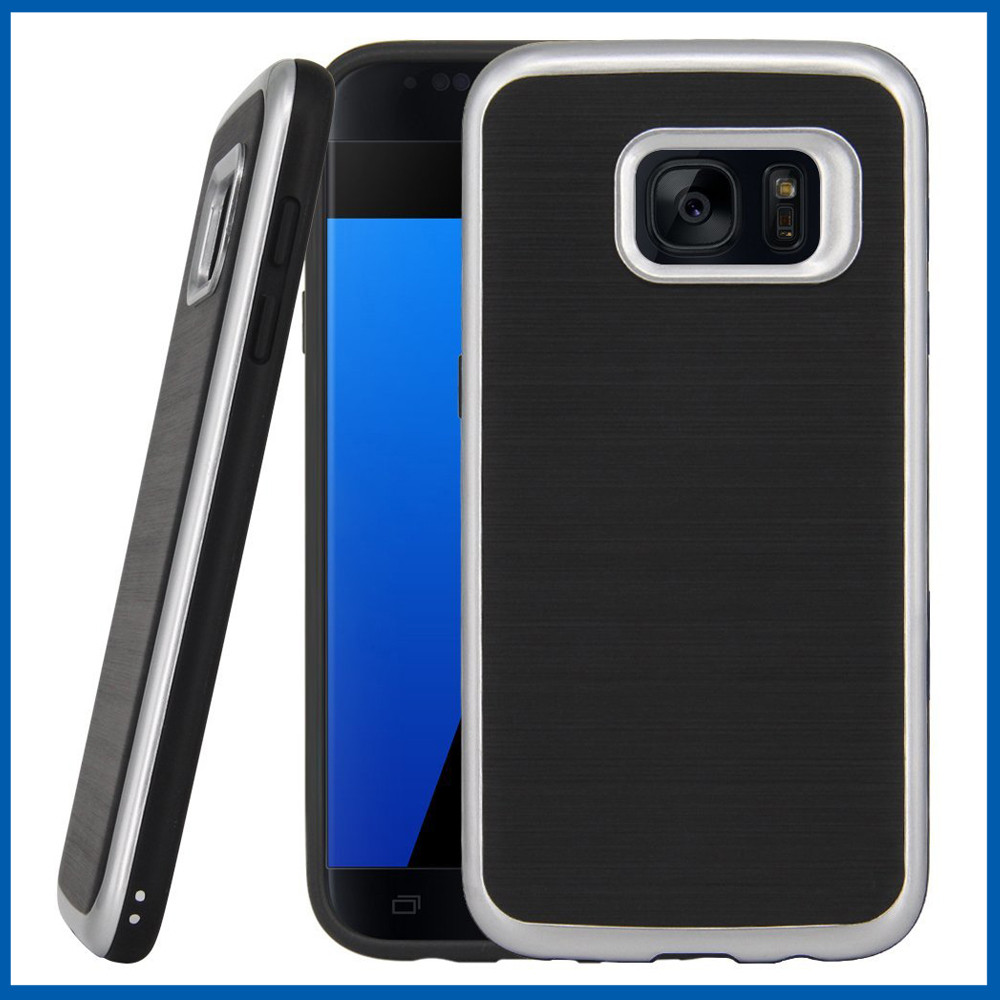 C&T Armor Hybrid Shockproof Protective Case Cover For Samsung Galaxy S7