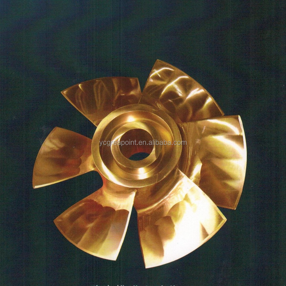 Marine Bronze Water-jet Propulsion Six-blade Propeller