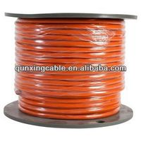Flexible Copper/Aluminum Rubber Insulation Electrical Welding Cable