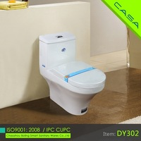 one piece ceramic toilet commode
