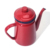 Creative red enamel coffee pot tea pot oild pot