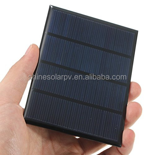 2017 Best Price Mono silicon 1.5 watt small solar panel/paneles solares for solar street light