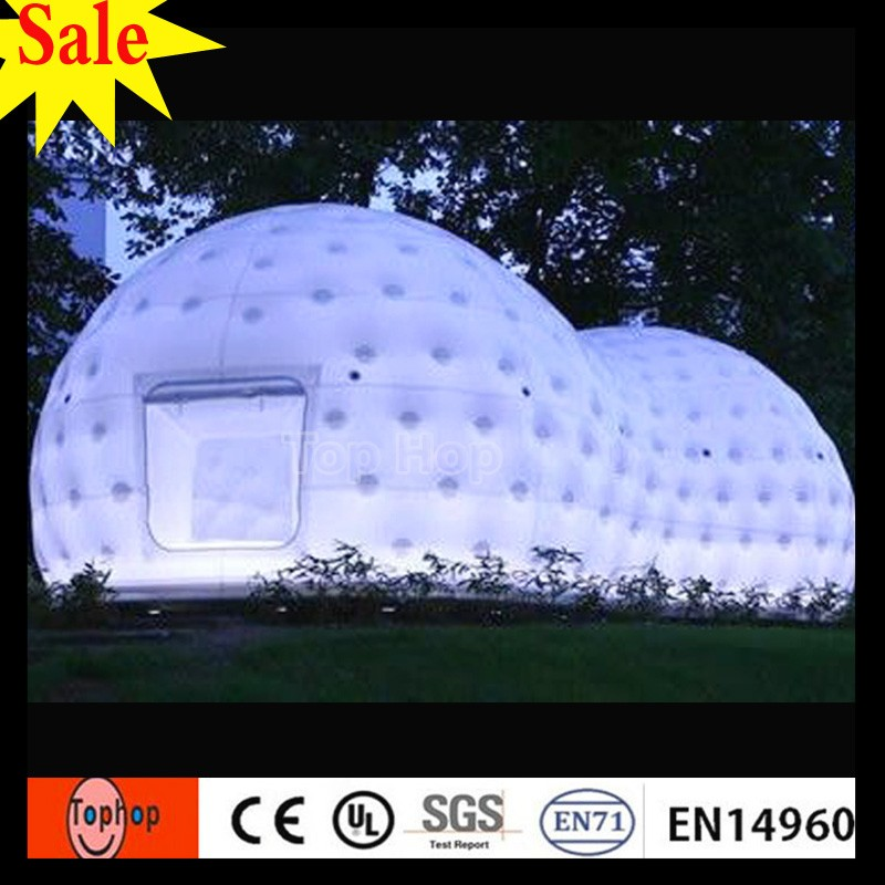 2017 new design garden shed offices tent inflatable outdoor tentage pop up bubble room for camping tent Advertising Inflatables