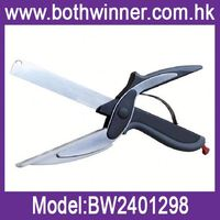 Vegetable cutter slicer h0t85 knife & cutting board scissors for sale