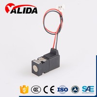 Two position three way 12v electric hydraulic solenoid valve