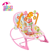 Baby bouncer baby rocker with vibration and music baby rocking chair bunny