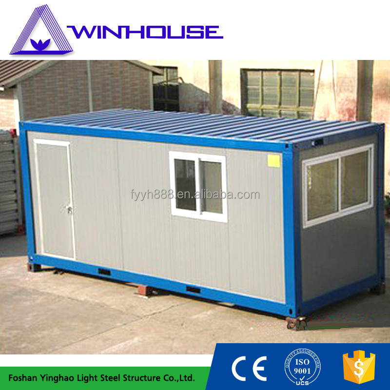 20 feet new design luxury container house customized make in China