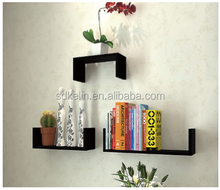 Modern decorative wall shelf cheap CD rack