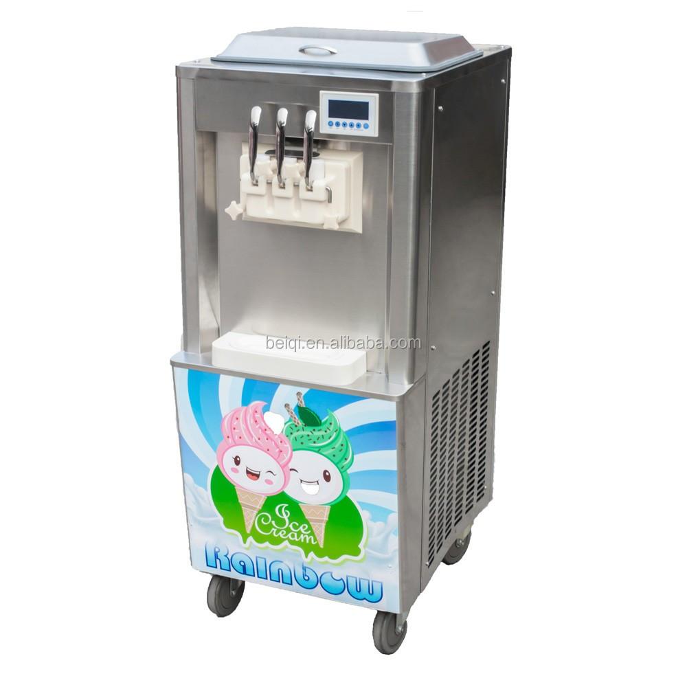 soft frozen yogurt machine