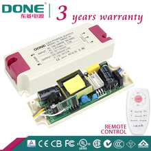 110V 220V Remote Control Color Temperature Changing and Dimming 36W 300ma Indoor LED Driver