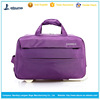Trendy trolley travel bag fold up travel bags on wheels for teens