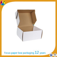 design folding cardboard white mailer boxes