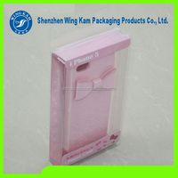 pink printing surrounding young girls lovely folding plastic box packing china supplier