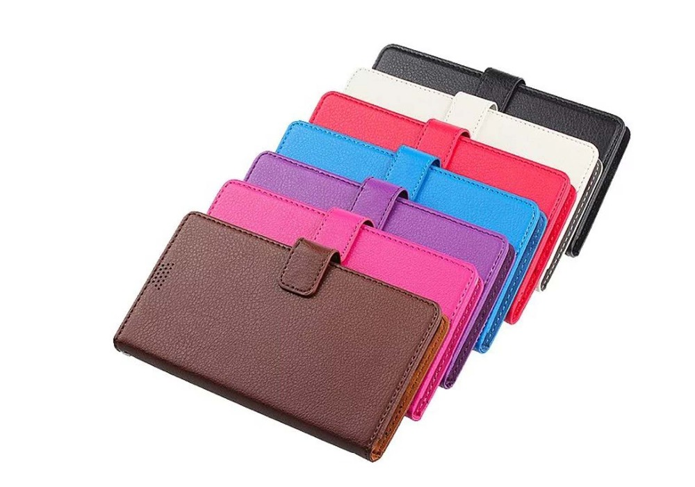 Lichee Pattern Premium Synthetic PU Leather Wallet Case Flip Cover Folio with Card Slots Stand cover for Samsung Galaxy S7edge