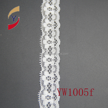 manufacture of nylon spandex lace trim for dress