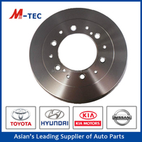 Auto spare part auto brake discs car accessories brake rotor 43512-26190