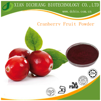 Cranberry Fruit Extract Powder Anthocyanidins 5-25% Pharmaceutical and Food Grade Free Sample