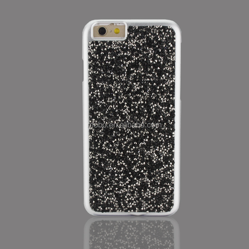 Diamond design PC materials phone protective case for iphone 7