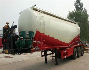 High quality powder material transport semi-trailer