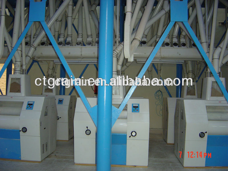 Best price of Whole Set Wheat Flour Mill made in China