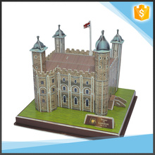 China gift items educational promotion toy 3D building puzzles
