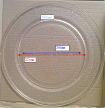 36cm flat microwave oven parts, glass plate, microwave oven glass tray