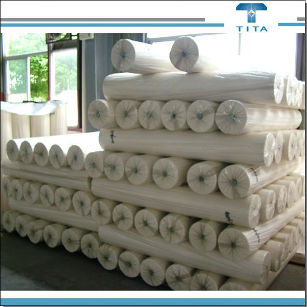 wholesale PVA water dissolves nonwoven fabric roll for embroidery backing