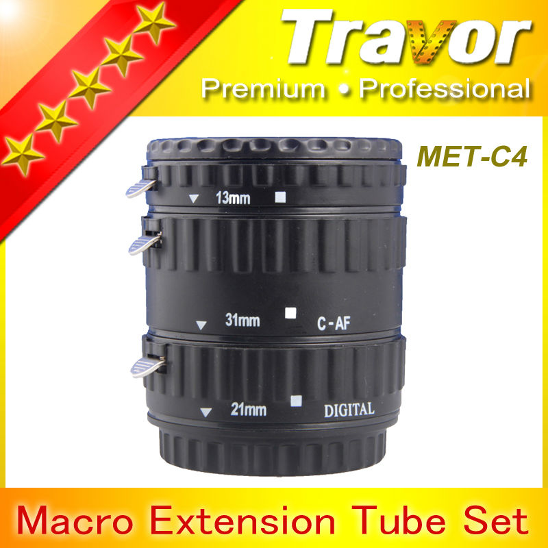 Digital Cameras Plastic Macro Extension Tube for Canon DSLR