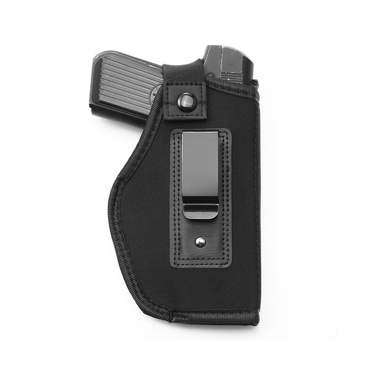 Adjustable Breathable Tactical Neoprene Leather Polymer Hand Gun Belt Holster