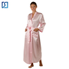 Custom Silk Robe Wholesale Kimono Extra Long Silk Robe