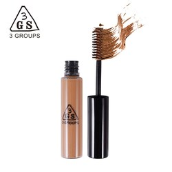 3GS makeup 5 Colors waterproof long- lasting dyeing eyebrow cream powder eyebrow mascara cosmetics