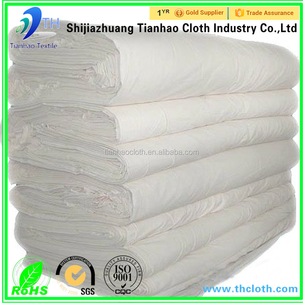 tc 80/20 45x45 133x72 47''grey fabric can be dyed printed bleached factory price poly cotton fabric