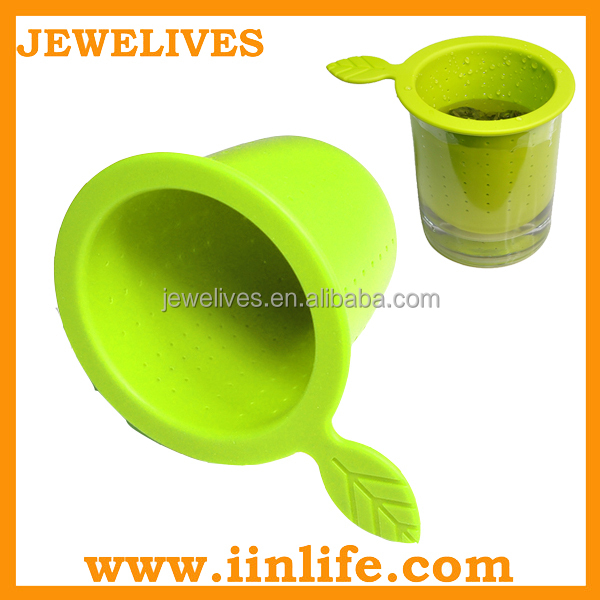 Customized new silicone smart tea filter