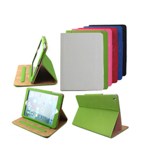 Mix colors Stand leather Multi function case for iPad Air , Magnetic sleep & wake up cover for ipad 5