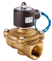 UW series solenoid valve ball valve brass valve for water