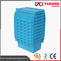 Bread plastic moving crate in high quality for supermarket logistics