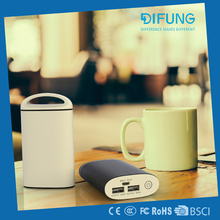 Hot selling portable high efficiency mini power bank 7500mah