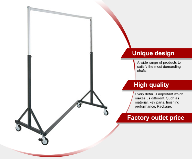 Guangdong Supplier Metal Display Rack For Clothes