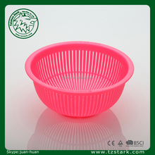 Eco-friendly promotional plastic fruit washing basket draining Strainer