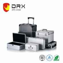 New Design Aluminum Box Hard Storage Carry Case Aluminum Tool Case, Aluminum Suitcase