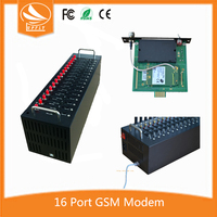 Factory Price At Command 16 Port 3G UC15 GSM Modem for Laptop Windows7