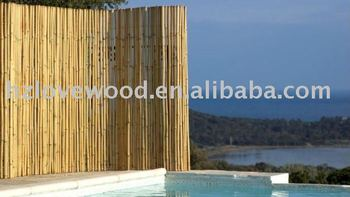 100% Natural Bamboo Fence,